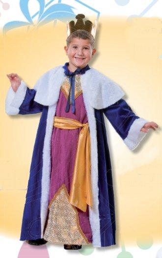 Disfraz de Rey Gaspar infantil talla 1 a 3 años