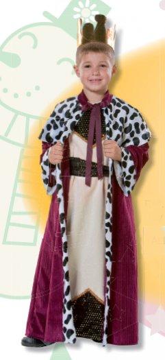 Disfraz de Rey Melchor infantil talla 1 a 3 años