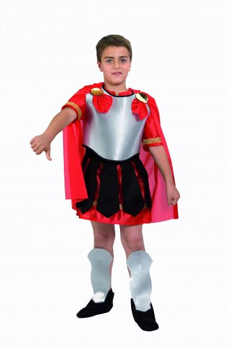 Disfraz de Romano infantil 5-7 años, talla 2