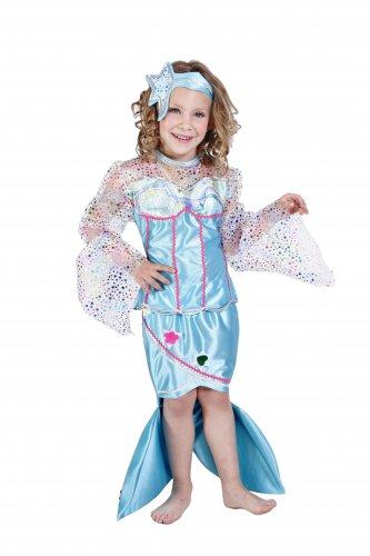 Disfraz de Sirenita Infantil 5 a 7 años, talla 2