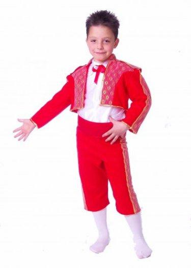 Disfraz de Torero Infantil talla 5 a 7 años, talla 2