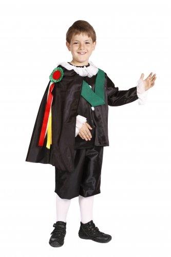 Disfraz de Tuno Infantil talla 5 a 7 años, talla 2