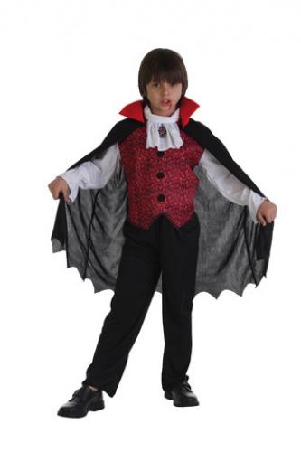 Disfraz de Vampiro Fantasmitas infantil talla M (7 a 10 años)