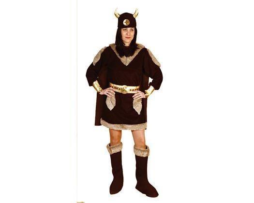 Disfraz de Vikinga Adulto Económico