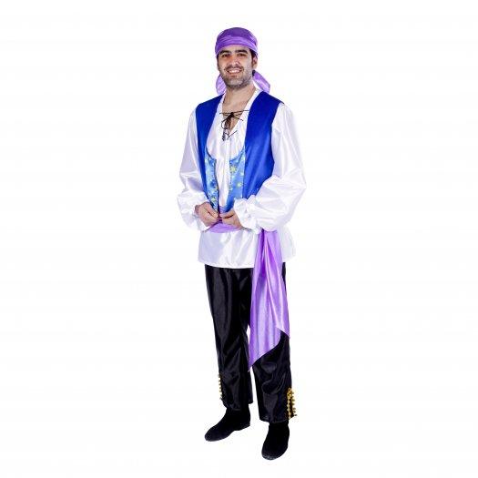 Disfraz de Zíngaro, adulto