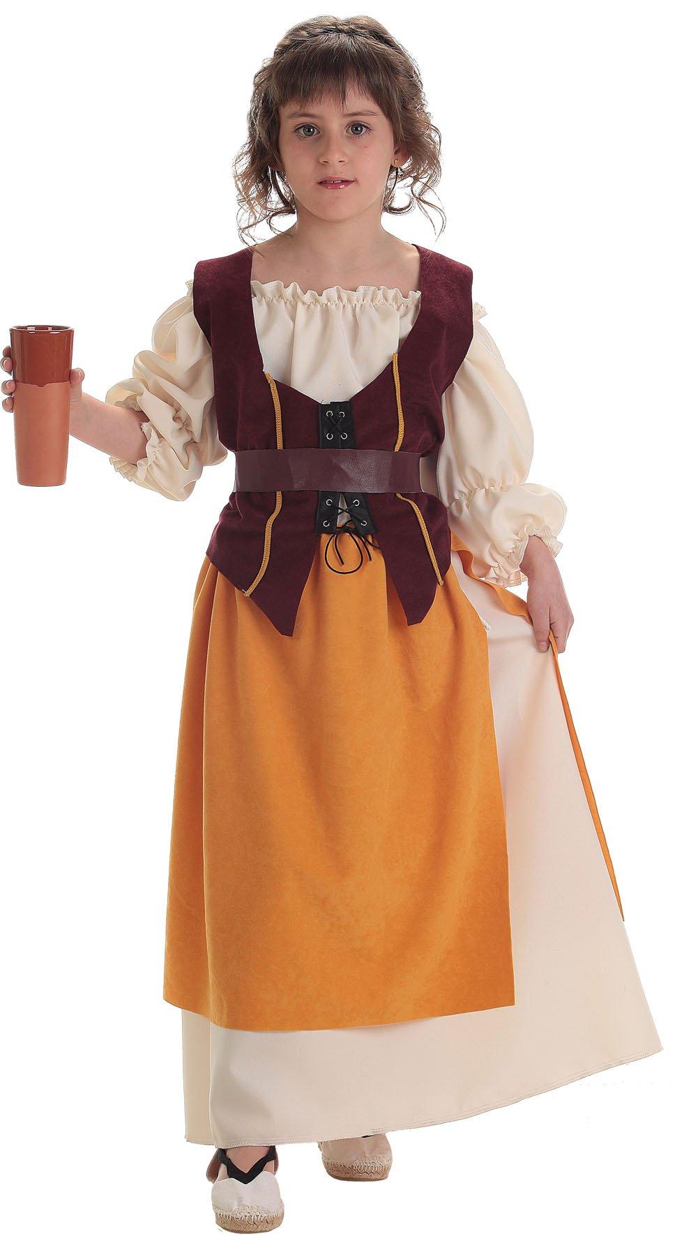 Disfraz de alfarera talla 1 (3-5 años)