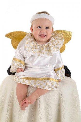 Disfraz de angelito bebe 01 6 a 1 a o - Disfraz halloween bebe 1 ano ...