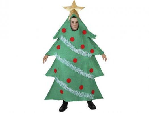 Disfraz de arbol navidad, 5-6 años