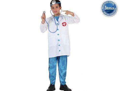 Slp disfraz de medico Talla 4 (10 – 12 años)