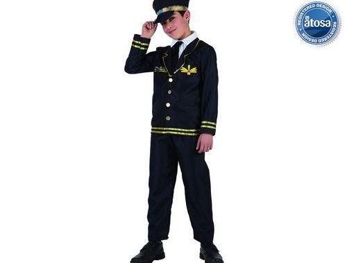Disfraz de aviador Talla 1 (3 – 4 años)