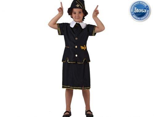 Slp disfraz de azafata de vuelo Talla 1 (3 – 4 años)