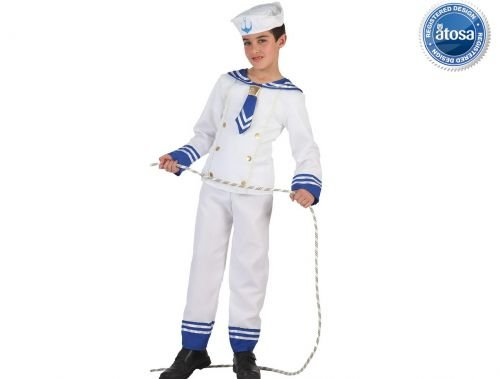 Slp disfraz de marinero Talla 3 (7 – 9 años)