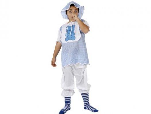 Disfraz de bebe niño, Talla 4 (10 – 12 años)