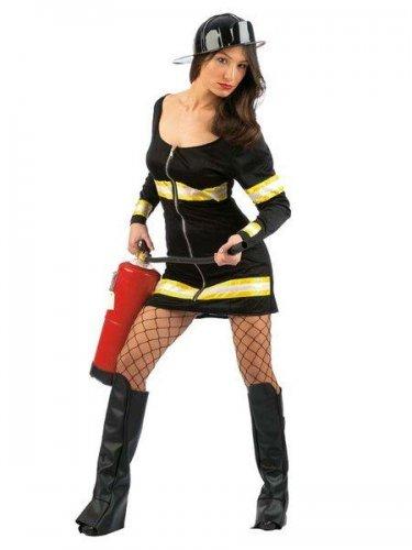 Disfraz de bombera cortafuegos