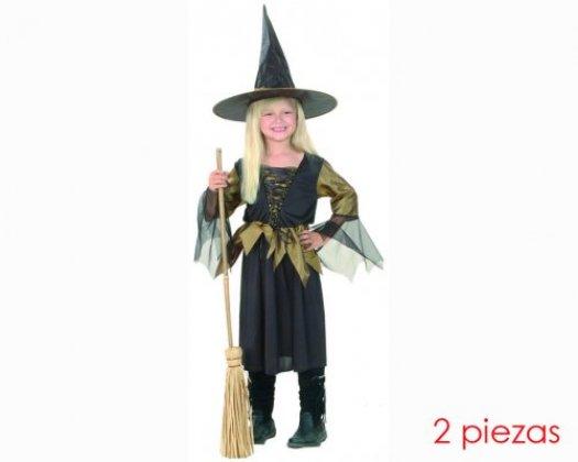 Disfraz de bruja 7-9 años niña