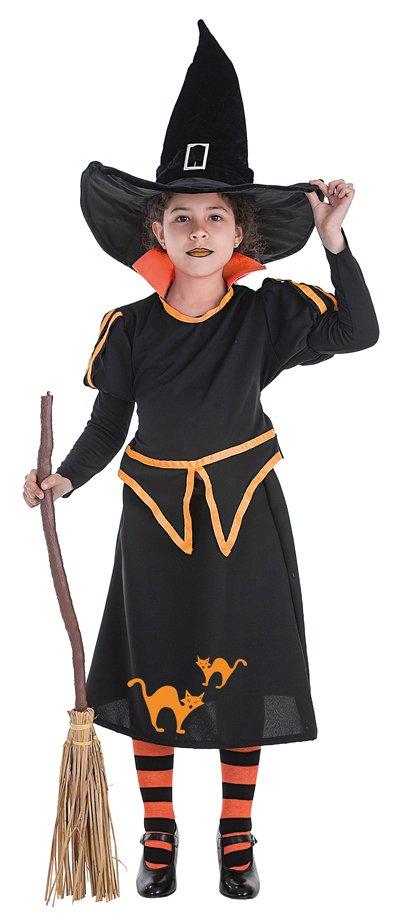 Disfraz de bruja Carol talla 1 (3-5 años)