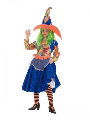 Disfraz de bruja arco iris