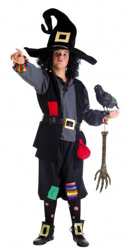 Disfraz de brujo colorines talla 4 (9-11 años)