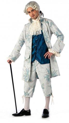 Disfraz de caballero rococo Talla S