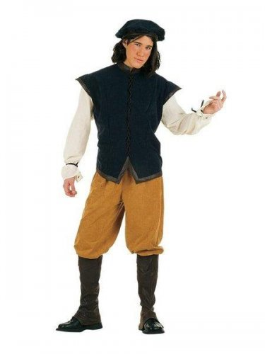 Disfraz de cantinero medieval