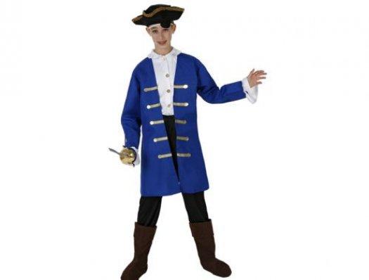 Disfraz de capitan pirata Talla 4 (10 – 12 años)