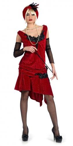 Disfraz de charleston brocado (bs) Talla M