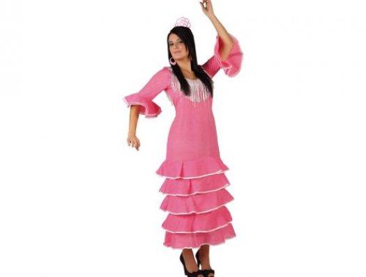 Disfraz de bailaora flamenca Talla 3 (XL-XXL)