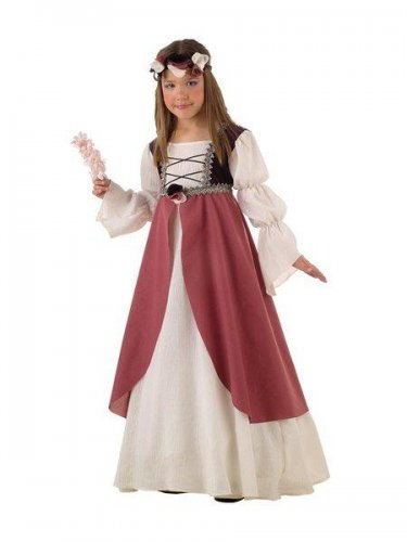 Disfraz de clarisa medieval (2) 3 a 5 años