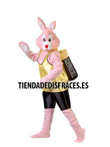 Disfraz de conejo de Duracell con pila talla 44