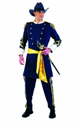 Disfraz de confederado Talla S