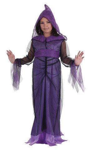 Disfraz de dama de la noche talla 2 (5-7 años)