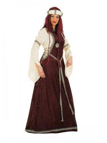 Disfraz de dama luisa medieval Talla M
