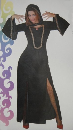 Disfraz de dama oscura, adulto
