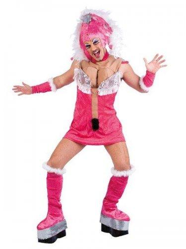 Disfraz de drag queen samba