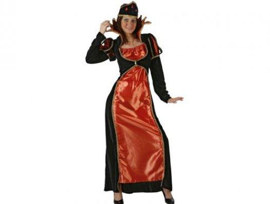 Disfraz de duquesa real, adulto