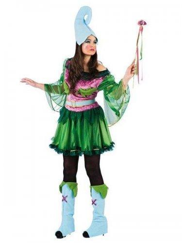 disfraz de elfa del bosque