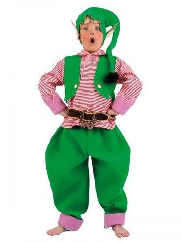 Disfraz de elfo Talla 7-9 años