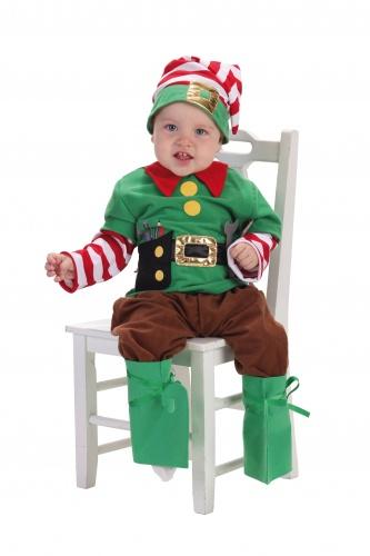 Disfraz de elfo bebé 18 meses
