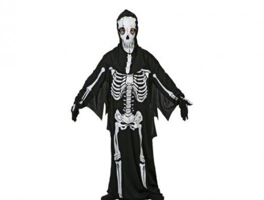 Disfraz de esqueleto malvado, 3-4