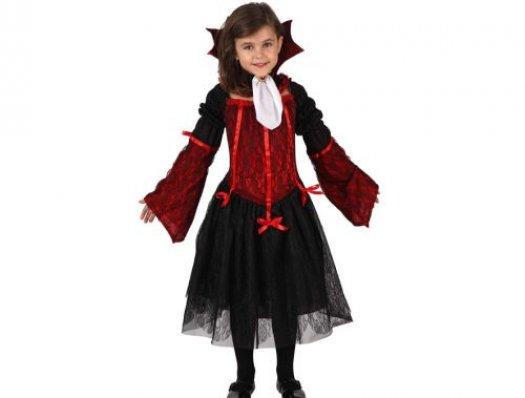 Disfraz de vampiro niña Talla 4 (10 – 12 años)