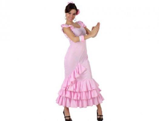 Disfraz de faralae rosa mujer