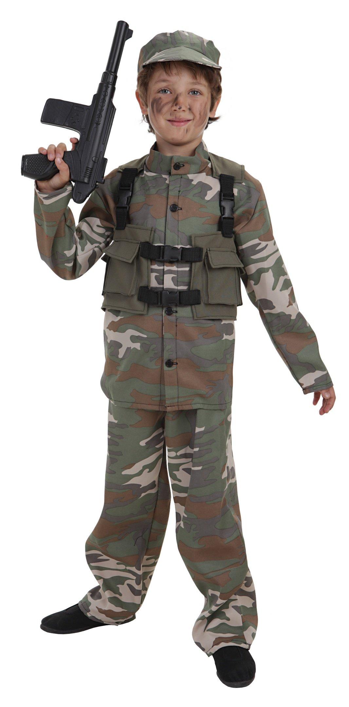 Disfraz de fuerzas especiales talla L (10-12 años)