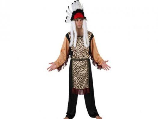Disfraz de gran jefe indio adulto talla 2