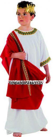 Disfraz de griego infantil