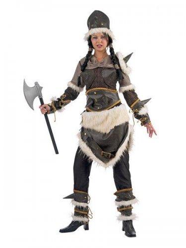 Disfraz de guerrera barbara adulto