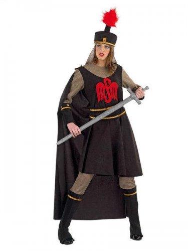 Disfraz de guerrera de las tinieblas