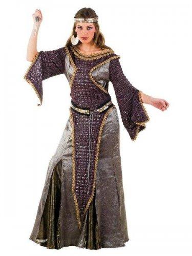 Disfraz de guerrera morrigan medieval