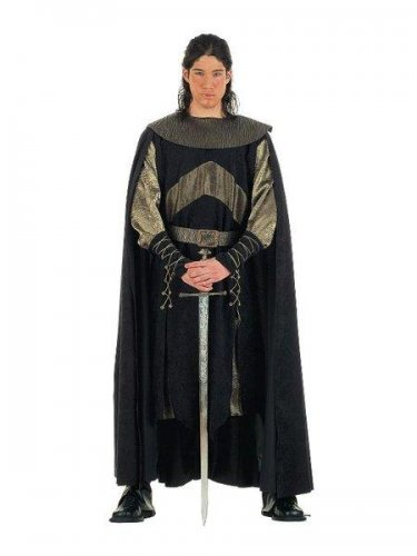 Disfraz de guerrero medieval de las cruzadas