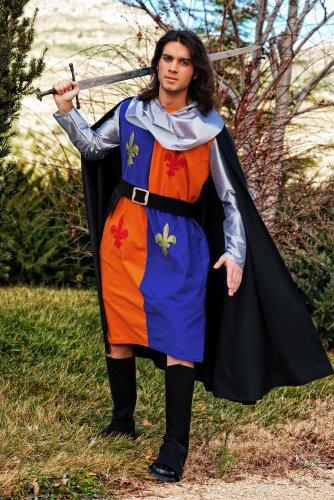 Disfraz de guerrero medieval lys Talla M