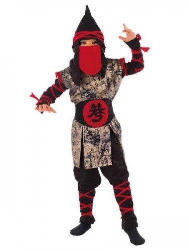 Disfraz de guerrero oriental ninja (2) 3 a 5 años